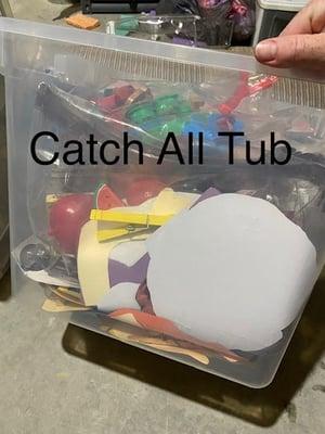 catch all tub