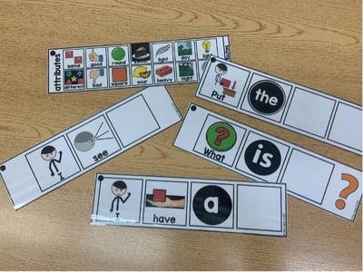visual cards